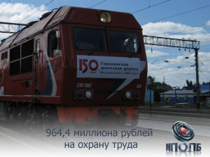 964,4 миллиона рублей на улучшение условий охраны труда